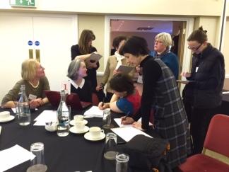 Workshop with Sarah Patey